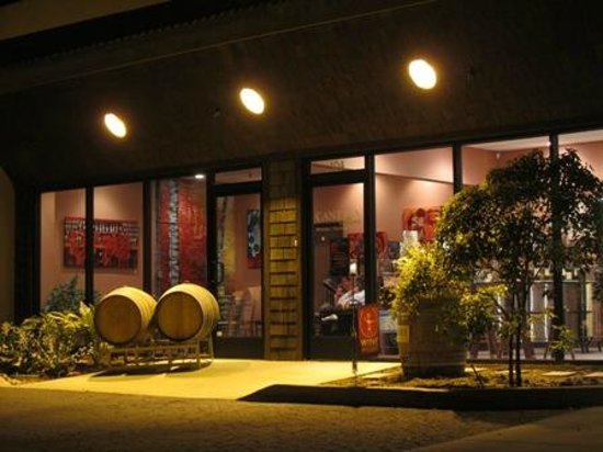 Cantara Cellars at night!