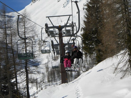 Storico Hotel Regina : Outdated lifts, but the ski area itself very good for intermediates