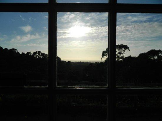 Ikhaya Safari Lodge:                   sunrise from the door of the room