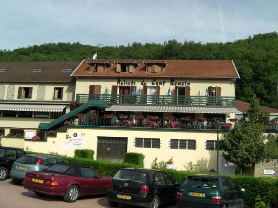 Chassey-le-Camp, Francia:                   goed hotel