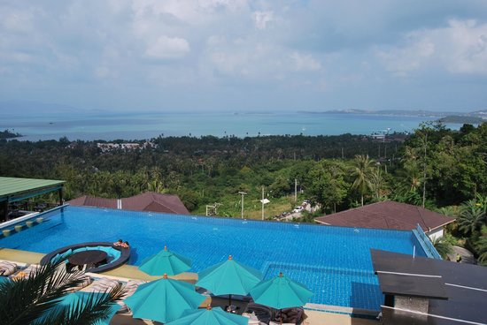 Mantra Samui Resort:                   Amazing viem from balcony