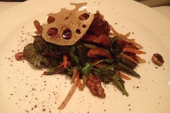 Parc Bistro: Crispy Duck salad special