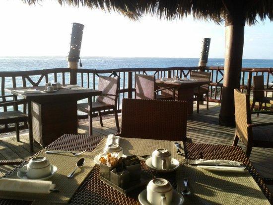 Club Med Punta Cana:                                                       restaurant hispaniola le matin