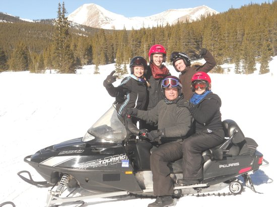 Monarch Snowmobile Tours:                   Group Photo