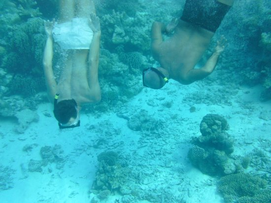 Asdu Sun Island: sott'acqua
