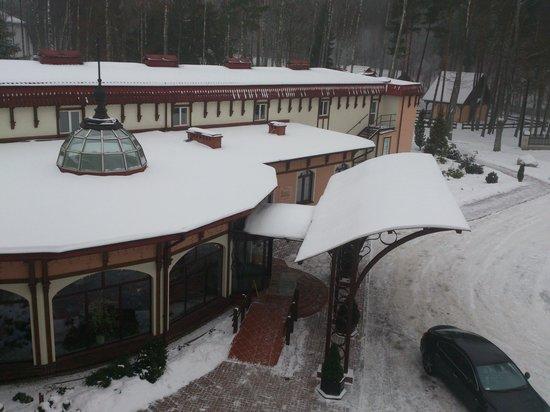 Hotel Anders :                   widok z pokoju
