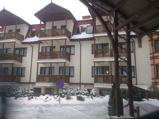 Hotel Anders :                   tę część hotelu polecam