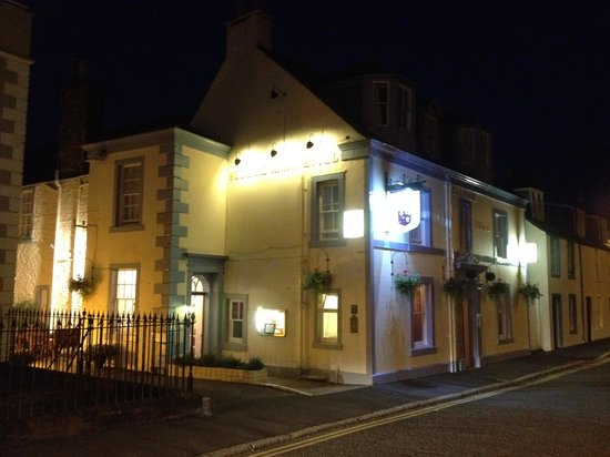 The Selkirk Arms Hotel:                                     From outside