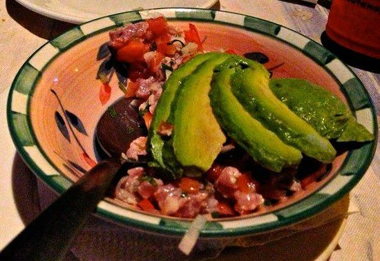 El Mediterraneo: tasty ceviche