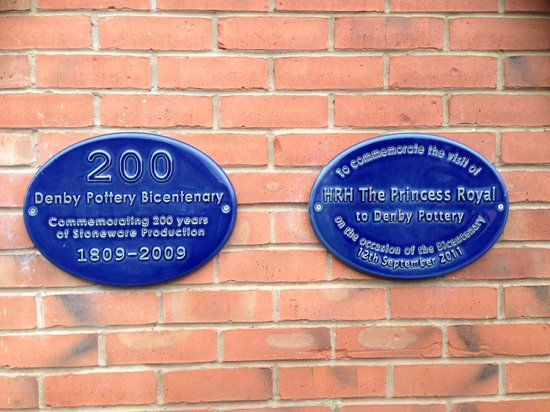 Denby Pottery Factory: Bicentenary Plaques