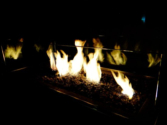 Sheraton Fisherman's Wharf Hotel: GREAT OUTSIDE FIRES