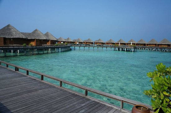 Baros Maldives:                   Villas over water