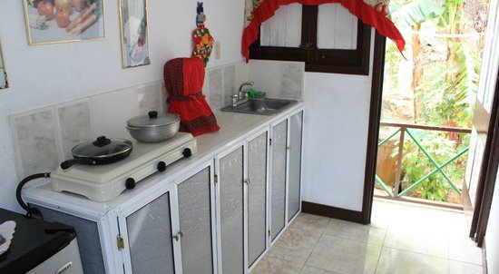 Posada Nativa Miss Trinie: Kitchen