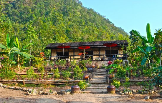 Kalaw, Birmanie (Myanmar) :                   An oasis in nature with dining on the terrace