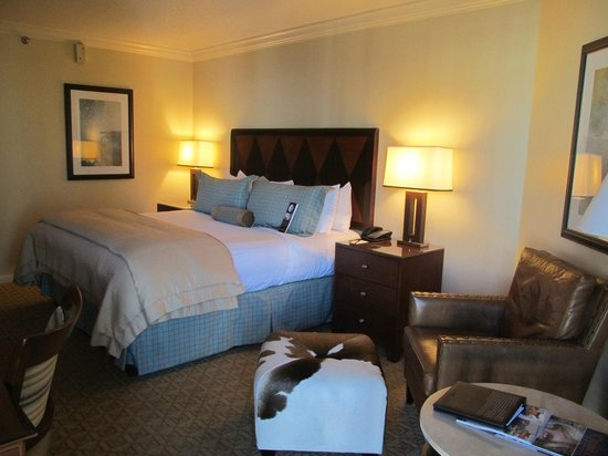 Omni Austin Hotel Downtown:                   King Guest Room