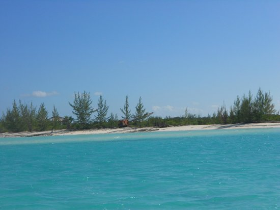 Alexandra Resort:                                     View of water just off coast of resort