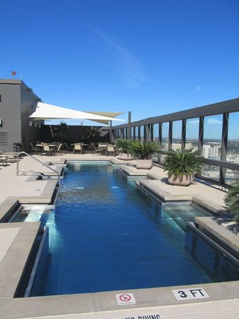 Omni Austin Hotel Downtown:                   Rooftop pool