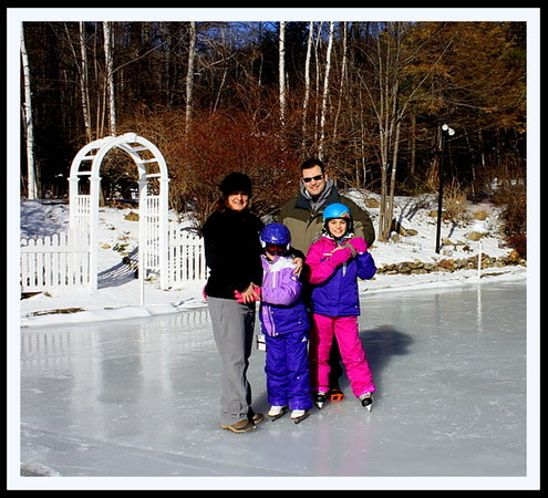 The Clarke House Bed & Breakfast: A family skate day ~