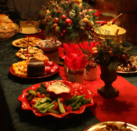 The Clarke House Bed & Breakfast: Christmas Buffet