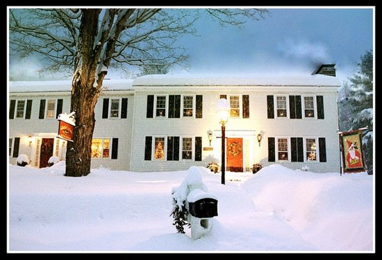 The Clarke House Bed & Breakfast: Snow!