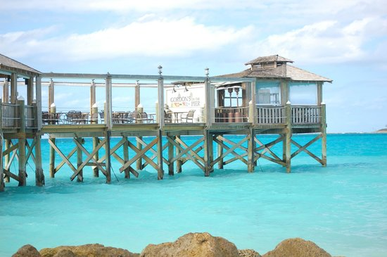 Sandals Royal Bahamian Spa Resort & Offshore Island: View of Gordon's on the Pier during the day