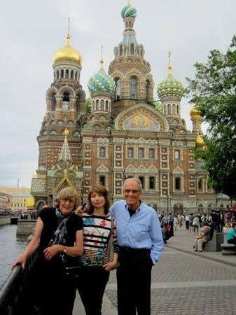Tzar Travel - Natalya German-Tsarkova:                   Church on spilled blood