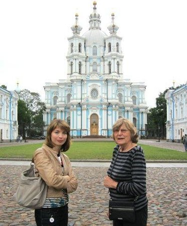 Tzar Travel - Natalya German-Tsarkova:                   Smolny cathedral