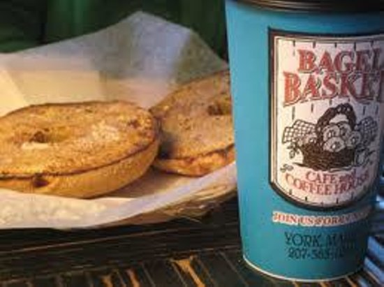 Bagel Basket: Coffee and a Bagel anyone?