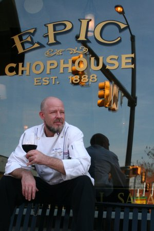 Mooresville, Carolina del Nord: Epic Chef Jon Spencer