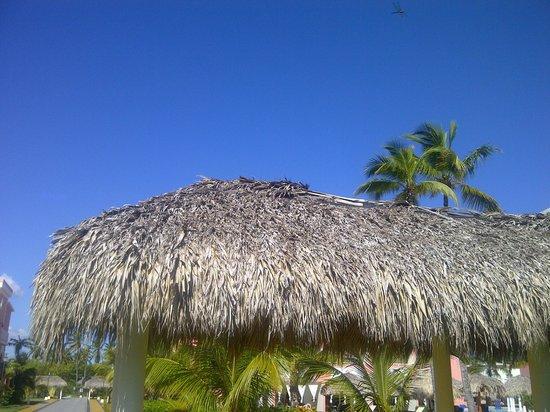 TRS Turquesa Hotel: Un magnifique ciel bleu...