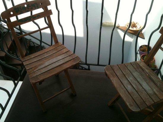 F Charm Hotel: Balcony