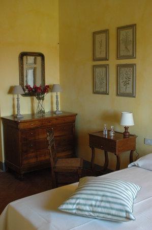 La Capannaccia: Una delle camere