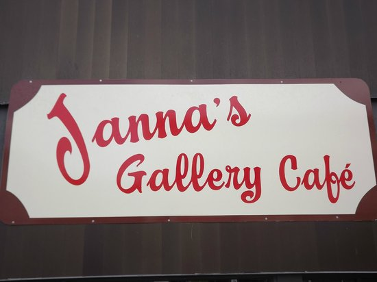‪‪Janna's Gallery Cafe‬: Just Look for the sign!!!‬
