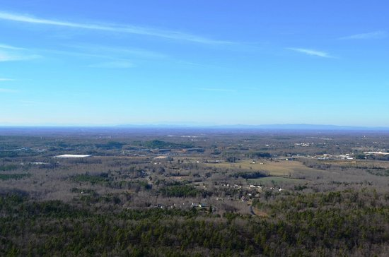 Crowders Mountain State Park: View from King's Pinnacle