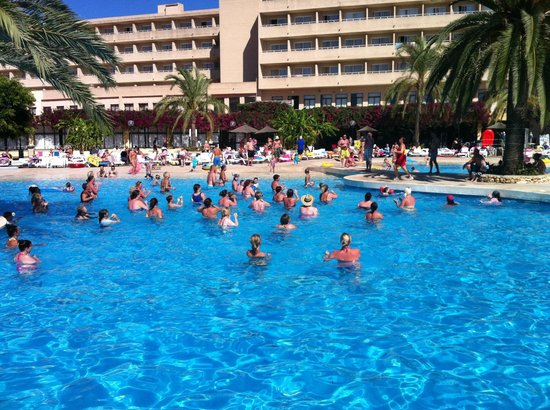 Club Cala Romani:                   Daily activities in the pool