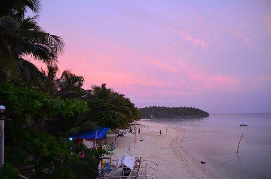 Bella Vista Mare:                   Sonnenuntergang am strand