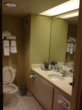 Hampton Inn Gainesville: Bathroom