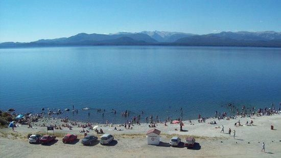 Hotel Espejo del Lago:                   vista desde hab 46, 4to piso, Excelente!!!
