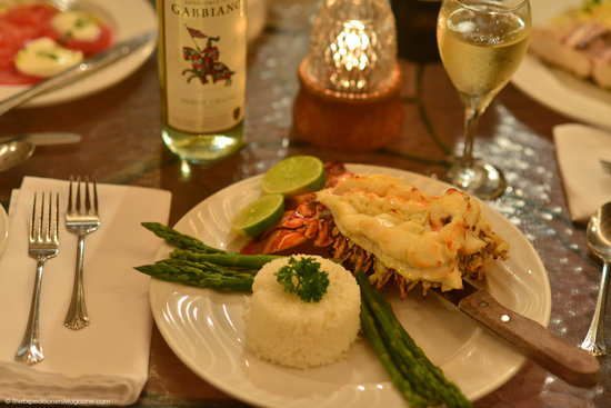 Baci Ristorante: Lobster Dinner at Baci