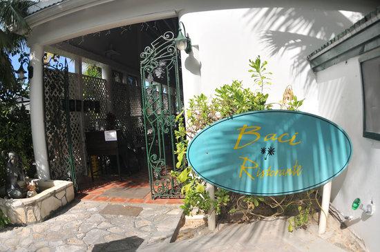 Baci Ristorante: Welcoming Entrance at Baci