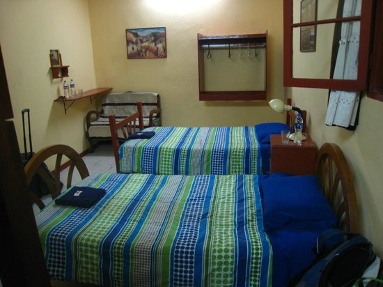 Casa Ana:                                     4 Person Room (bunk bed out of shot)