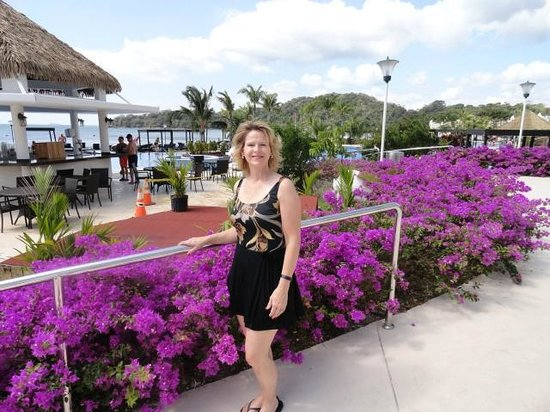 The Westin Playa Bonita Panama:                   beautiful flowers and landscaping throughout