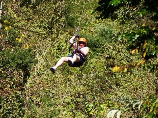 The Congo Trail Canopy Tour: In The Canopy