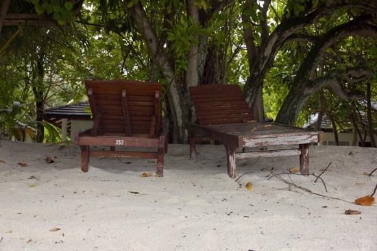 Sun Island Resort and Spa: Unsere Liegen