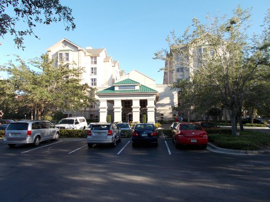 Homewood Suites Orlando/International Drive/Convention Center:                   hotel from outside