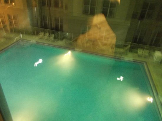 Homewood Suites Orlando/International Drive/Convention Center:                   pool from room view