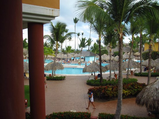 Iberostar Punta Cana:                   View of pool area