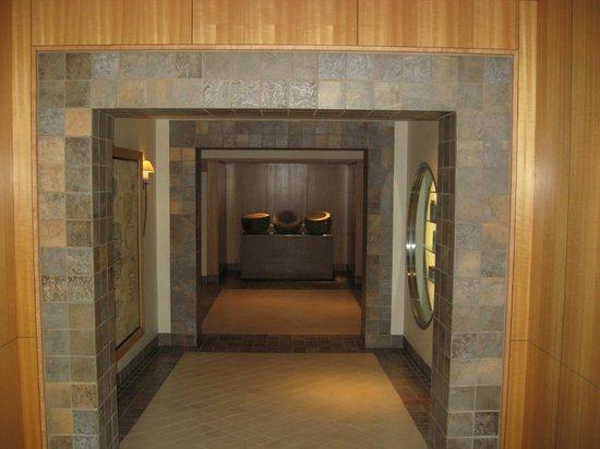 Grand Spa & Fitness Center:                   Spa Entrance