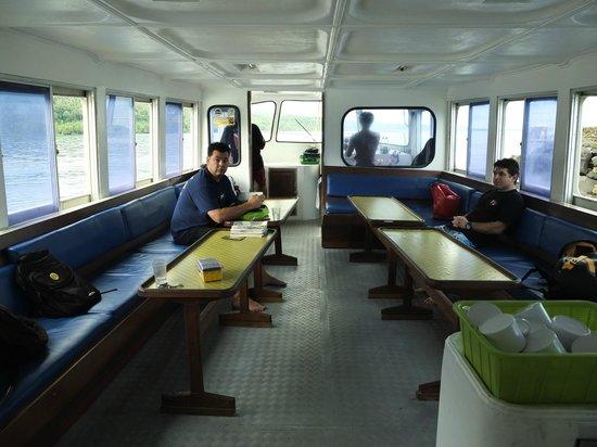 Tasik Ria Resort Manado:                   DIVE BOAT