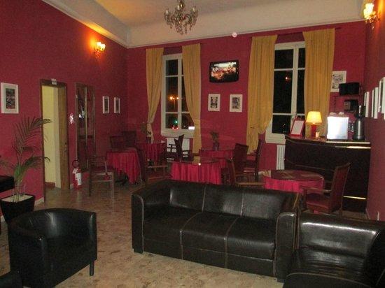Hotel Benvenuti: lounge